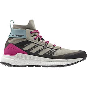 adidas TERREX Free Hiker Hiking Shoes Men, sesame/raw white/real magenta